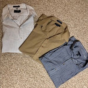 Dress Shirt Button Down Bundle Size 3XL